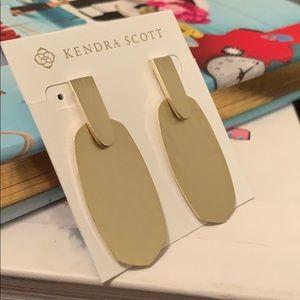 Kendra Scott Jewelry - Kendra Scott Aragon Hammered Drop Earrings in Gold